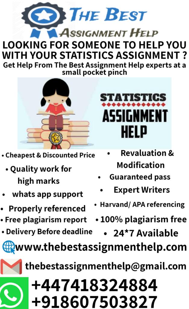 statistics assignments