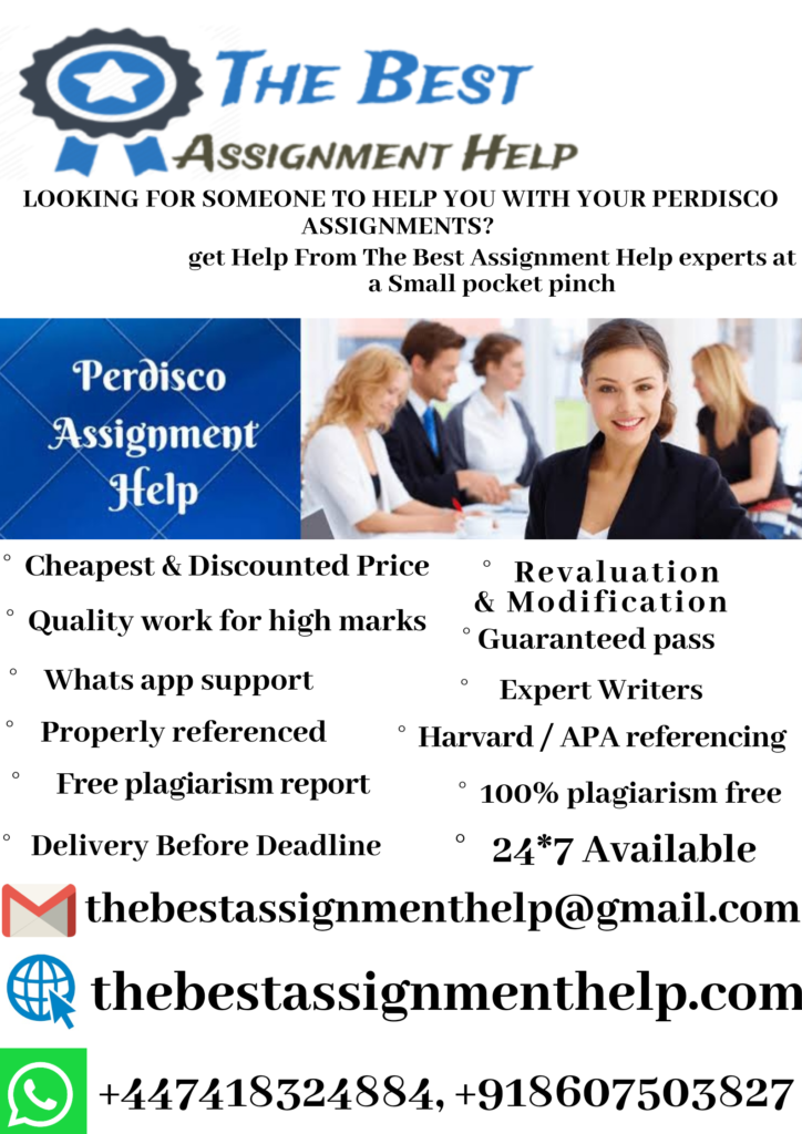 perdisco assignment help