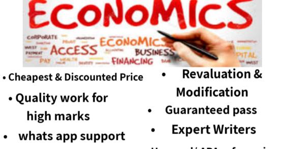 economics assignment help australia