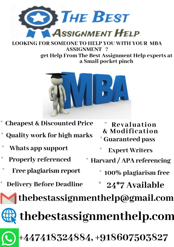 mba assignment help online